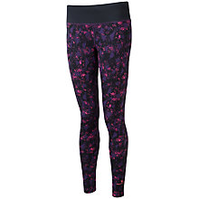 Buy Ronhill Vizion Rhythm Running Tights, Black/Fluorescent Pink Online at johnlewis.com