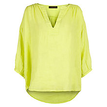 Buy Jaeger Linen Tunic Top Online at johnlewis.com