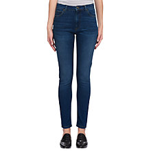 Buy Whistles Skinny Jeans, Mid Wash Denim Online at johnlewis.com