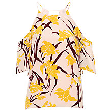 Buy Whistles Lily Cold Shoulder Top, Multicolour Online at johnlewis.com