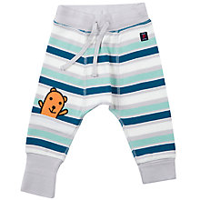 Buy Polarn O. Pyret Baby Striped Joggers, Multi Online at johnlewis.com