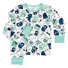 Buy Polarn O. Pyret Children's Friendly Ghost Pyjamas Online at johnlewis.com