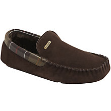 Buy Barbour Monty Suede Slippers Online at johnlewis.com