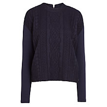 Buy Maison Scotch Cable Knit Jumper Online at johnlewis.com