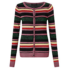 Buy Maison Scotch Stripe Metallic Fibre Cardigan, Multi Online at johnlewis.com