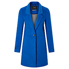 Buy Maison Scotch Bonded Wool Coat, Electric Blue Online at johnlewis.com