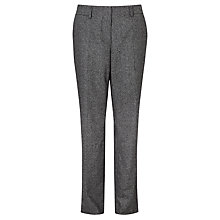 Buy Gardeur Kayla Tweed Trousers, Grey Online at johnlewis.com