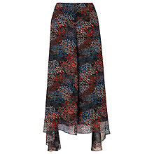 Buy L.K. Bennett Silk Cami Chiffon Print Skirt, Multi Online at johnlewis.com