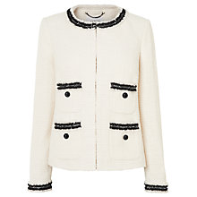 Buy L.K. Bennett Charl Boucle Tailored Jacket Online at johnlewis.com