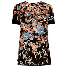 Buy L.K. Bennett Silk Darcie Printed Top, Multi Online at johnlewis.com