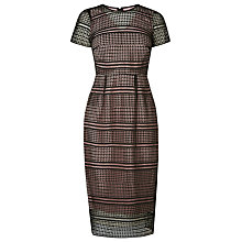 Buy L.K. Bennett Maddox Lace Dress, Black Online at johnlewis.com