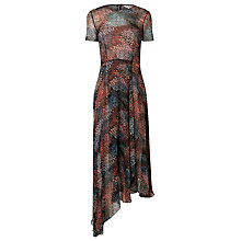 Buy L.K. Bennett Cami Silk Printed Dress, Multi Online at johnlewis.com