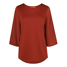 Buy L.K. Bennett Phia Tunic Top, Orange Online at johnlewis.com