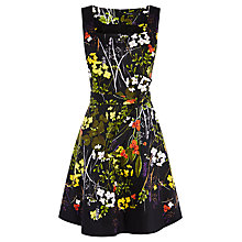 Buy Karen Millen Vintage Floral Dress, Multi Online at johnlewis.com