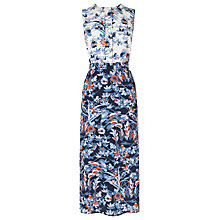 Buy L.K. Bennett Tiggy Floral Print Dress, Sloane Blue Online at johnlewis.com