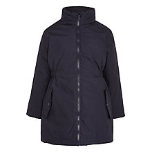 Buy John Lewis Girls' 3-in-1 Waterproof School Coat, Navy Online at johnlewis.com