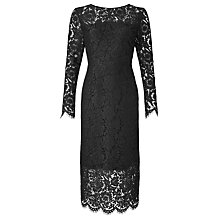 Buy John Lewis Long Sleeve Lace Dress Online at johnlewis.com