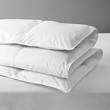 Buy John Lewis 90/10 Duck Down Duvet, 10.5 Tog Online at johnlewis.com