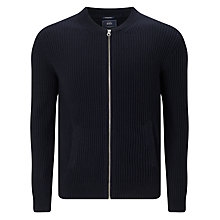 Buy Scotch & Soda Zip Through Cardigan, Navy Melange Online at johnlewis.com