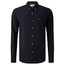 Buy Scotch & Soda Brushed Shirt, Navy Online at johnlewis.com
