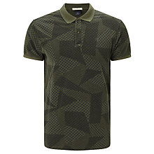 Buy Scotch & Soda Polo Shirt, Green Online at johnlewis.com