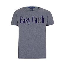 Buy Scotch & Soda Print T-shirt, Blue Steel Online at johnlewis.com