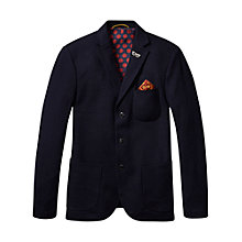 Buy Scotch & Soda Classic Tweed Wool Blazer, Navy Online at johnlewis.com