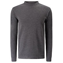 Buy Libertine-Libertine Dash Temple Long Sleeve Jumper, Grey Melange Online at johnlewis.com