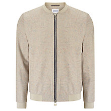 Buy Libertine-Libertine Chords Fever Wool Bomber Jacket, Sand W Nep Online at johnlewis.com