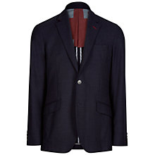 Buy Hackett London Union Jack Blazer, Navy Online at johnlewis.com