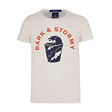Buy Scotch & Soda Print T-shirt, Kit Online at johnlewis.com