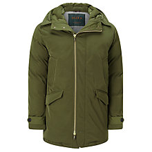 Buy Scotch & Soda Down Parka Coat, Military Online at johnlewis.com