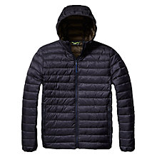 Buy Scotch & Soda Quilted Hood Jacket, Night Online at johnlewis.com