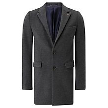 Buy Scotch & Soda Classic Gentleman's Coat, Graphite Melange Online at johnlewis.com