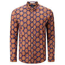Buy Scotch & Soda Stretch Long Sleeve Shirt, Multi Online at johnlewis.com