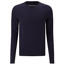 Buy Scotch & Soda Classic Crew Jumper, Midnight Melange Online at johnlewis.com
