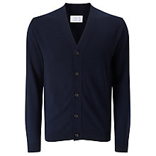 Buy Libertine-Libertine Spin Frame Fine Knit Cardigan, Dark Navy Online at johnlewis.com