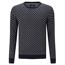 Buy Scotch & Soda Cotton Jumper, Grey Spot Online at johnlewis.com