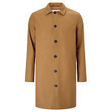 Buy Libertine-Libertine Turbo Affect Wool Mac Overcoat, Camel Online at johnlewis.com