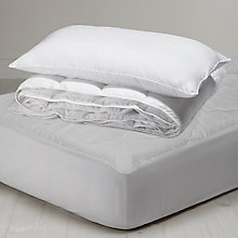 Buy House by John Lewis Soft Touch Washable 10.5 Tog Duvet, Pillow & Mattress Protector Off to Uni Set Online at johnlewis.com