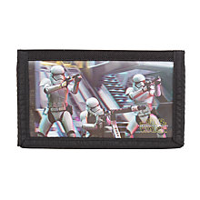 Buy Star Wars The Force Awakens Stormtrooper Lenticular Wallet Online at johnlewis.com