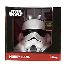 Buy Star Wars Stormtrooper 3D Money Box Online at johnlewis.com