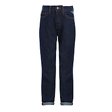 Buy John Lewis Boys' Core Regular Fit Jeans, Dark Wash Denim Online at johnlewis.com
