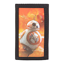 Buy Star Wars The Force Awakens BB-8 Lenticular Wallet Online at johnlewis.com