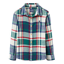 Buy Little Joule Boys' Hamish Check Shirt, Cream/Multi Online at johnlewis.com