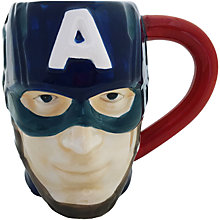 Buy Marvel Captain America 3D Mug Online at johnlewis.com