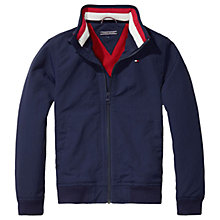 Buy Tommy Hilfiger Boys' Lightweight Jacket, Navy Online at johnlewis.com