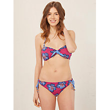 Buy White Stuff Tribal Floral Bikini Bottoms, Dahlia Purple Online at johnlewis.com
