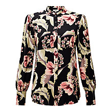 Buy Somerset by Alice Temperley Dahlia Floral Print Shirt, Multi Online at johnlewis.com