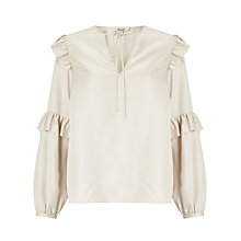 Buy Somerset by Alice Temperley Frill Sleeve Shirt Online at johnlewis.com